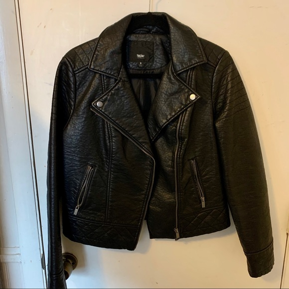 Mossimo Supply Co. Jackets & Blazers - Mossimo Vegan Leather Moto Jacket